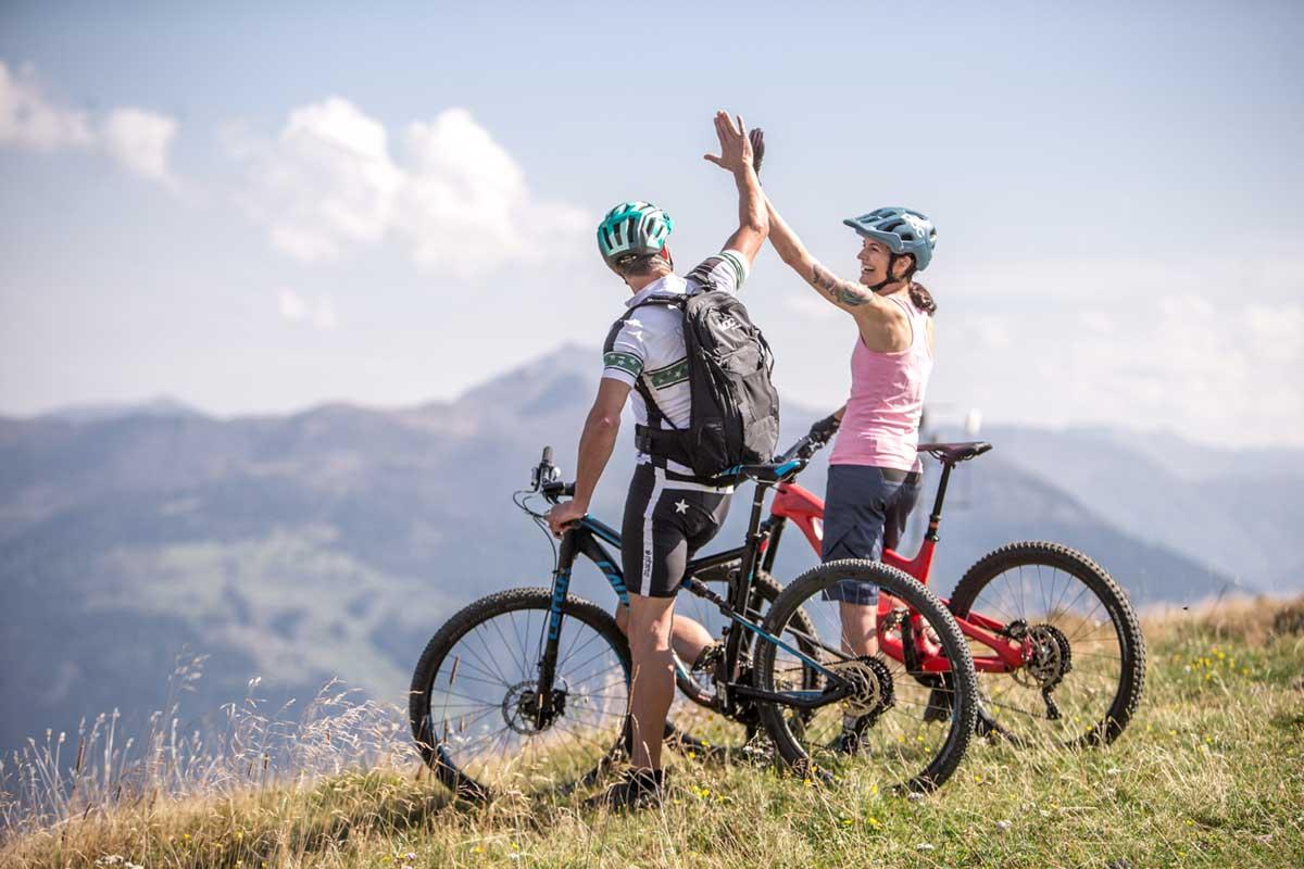 Radfahren im Zillertal