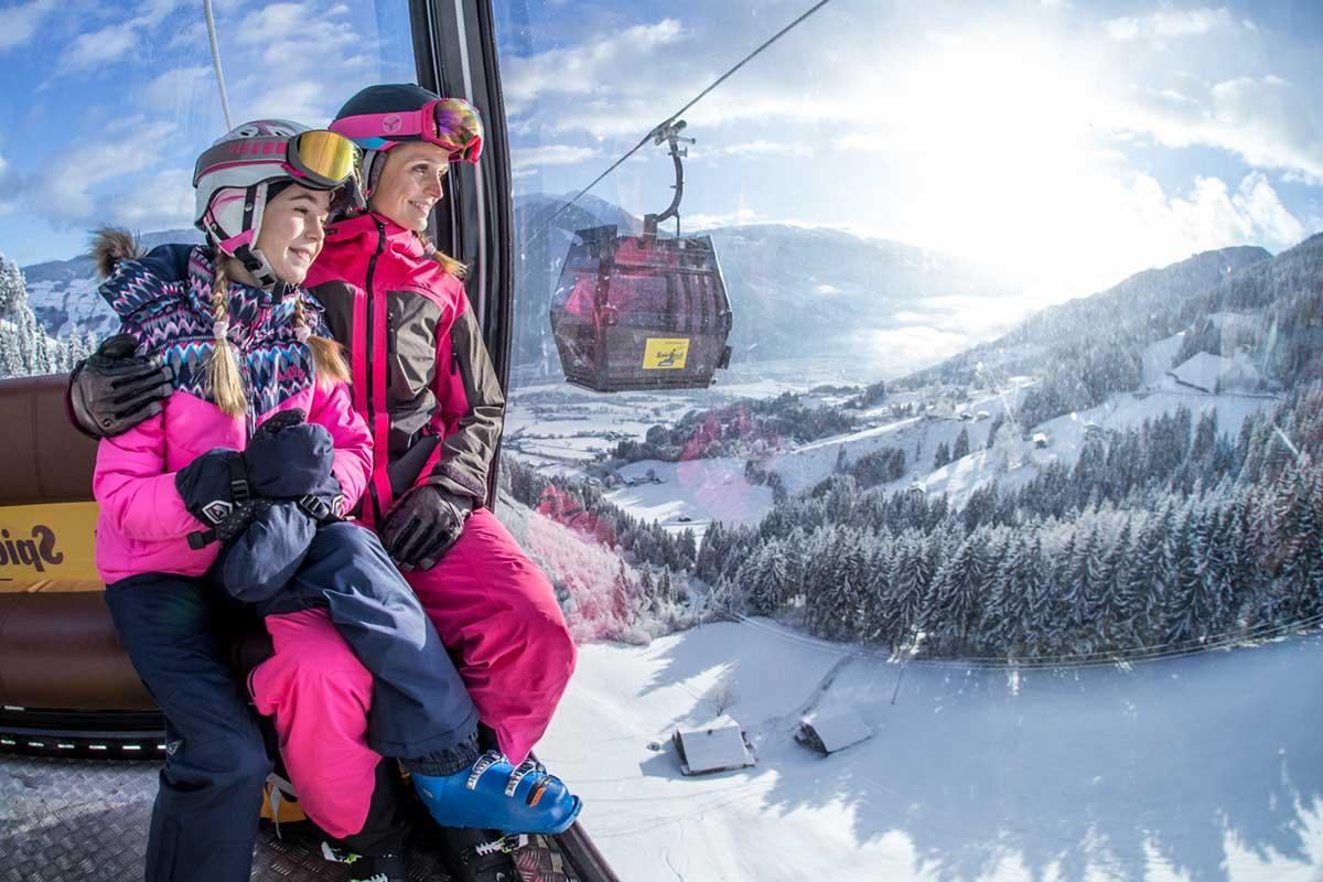 Skiing Spieljochbahn